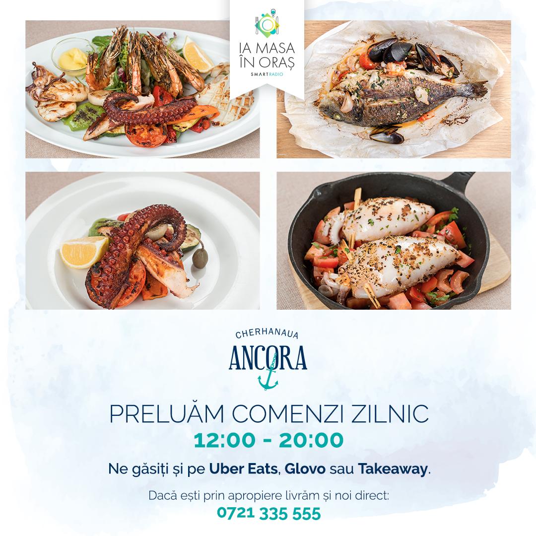 Ia masa în oraș! – Azi prânzul de la Ancora