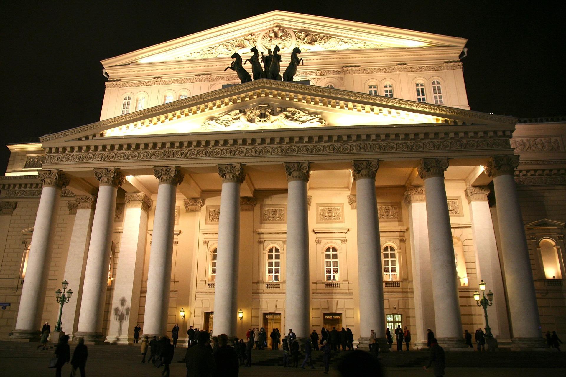Petrece o seară de izolare la Teatrul Bolșoi din Moscova