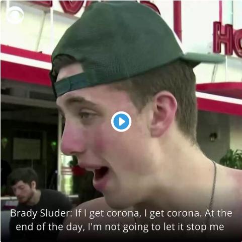 """Inconștiența tinerilor americani: """"Dacă iau corona, iau corona. Asta n-o să mă oprească să mă distrez"""""""