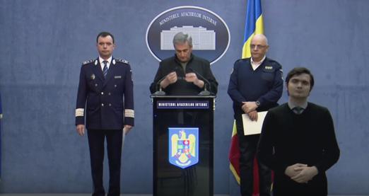 Marcel Vela, ministrul de Interne, anunță noi restricții de circulație impuse din 22 martie prin ordonanță militară