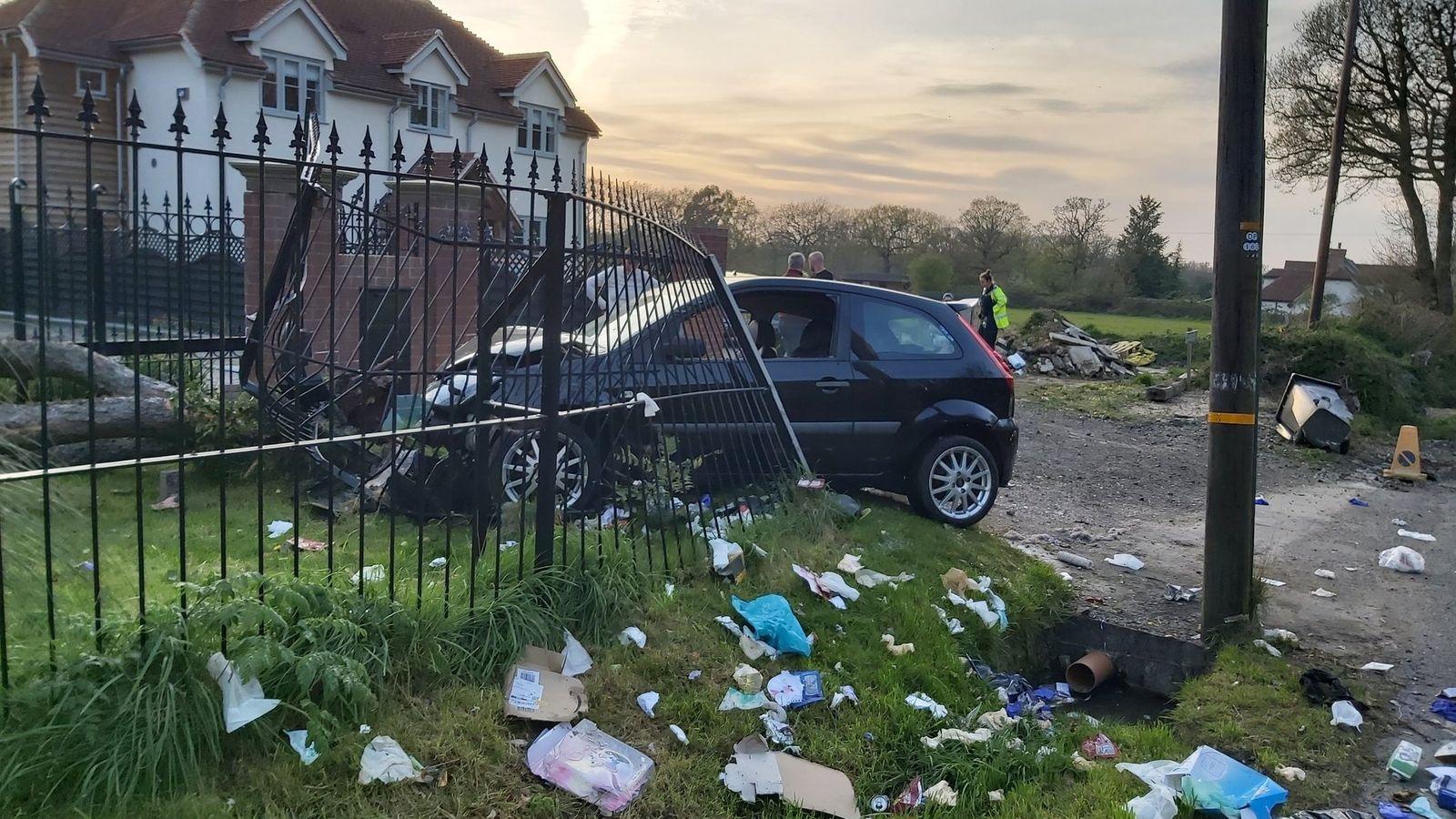 Accident rutier provocat de un șofer care s-a plictisit de izolare