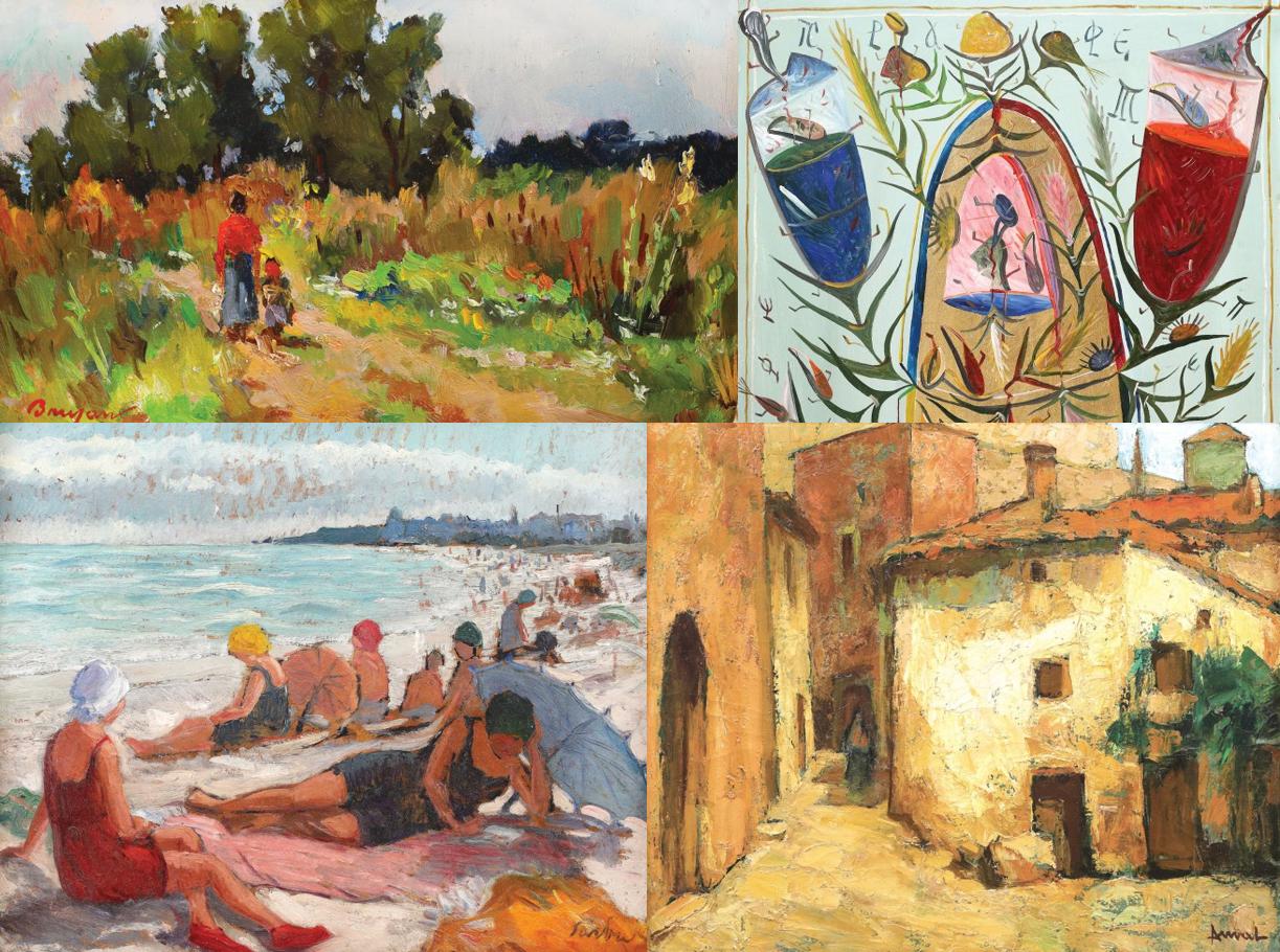 Lucrări ale unor pictori celebri, scoase la licitație cu prețuri pornind de la 100 de euro