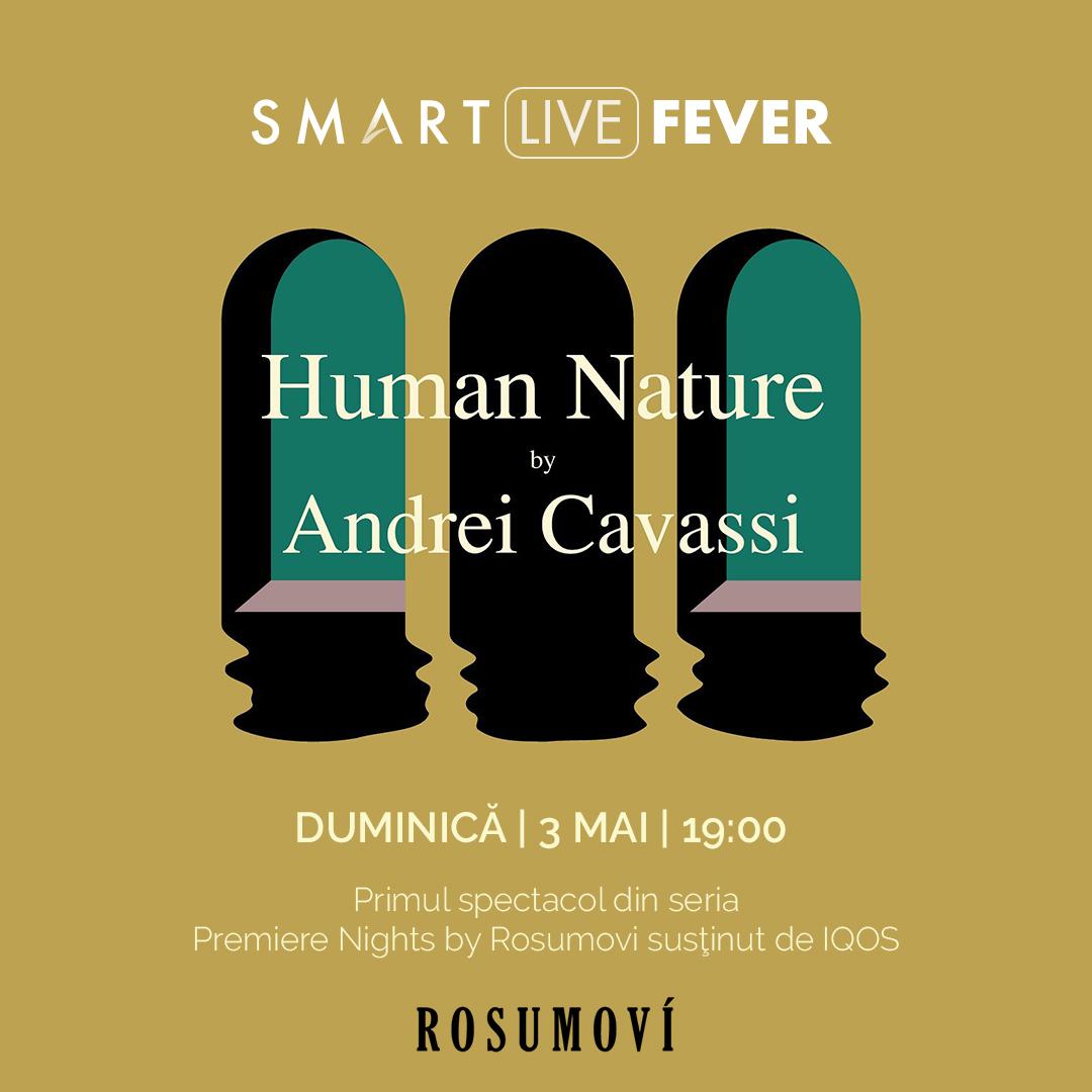 Concert de violoncel – Human Nature by Andrei Cavassi azi, de la ora 19:00