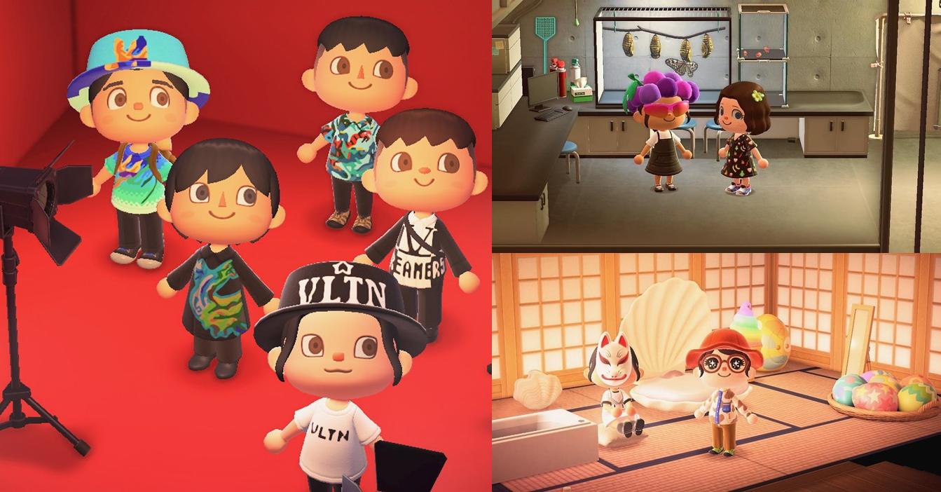 """Casele de modă își prezintă ultimele creații în jocul video """"Animal Crossing"""""""