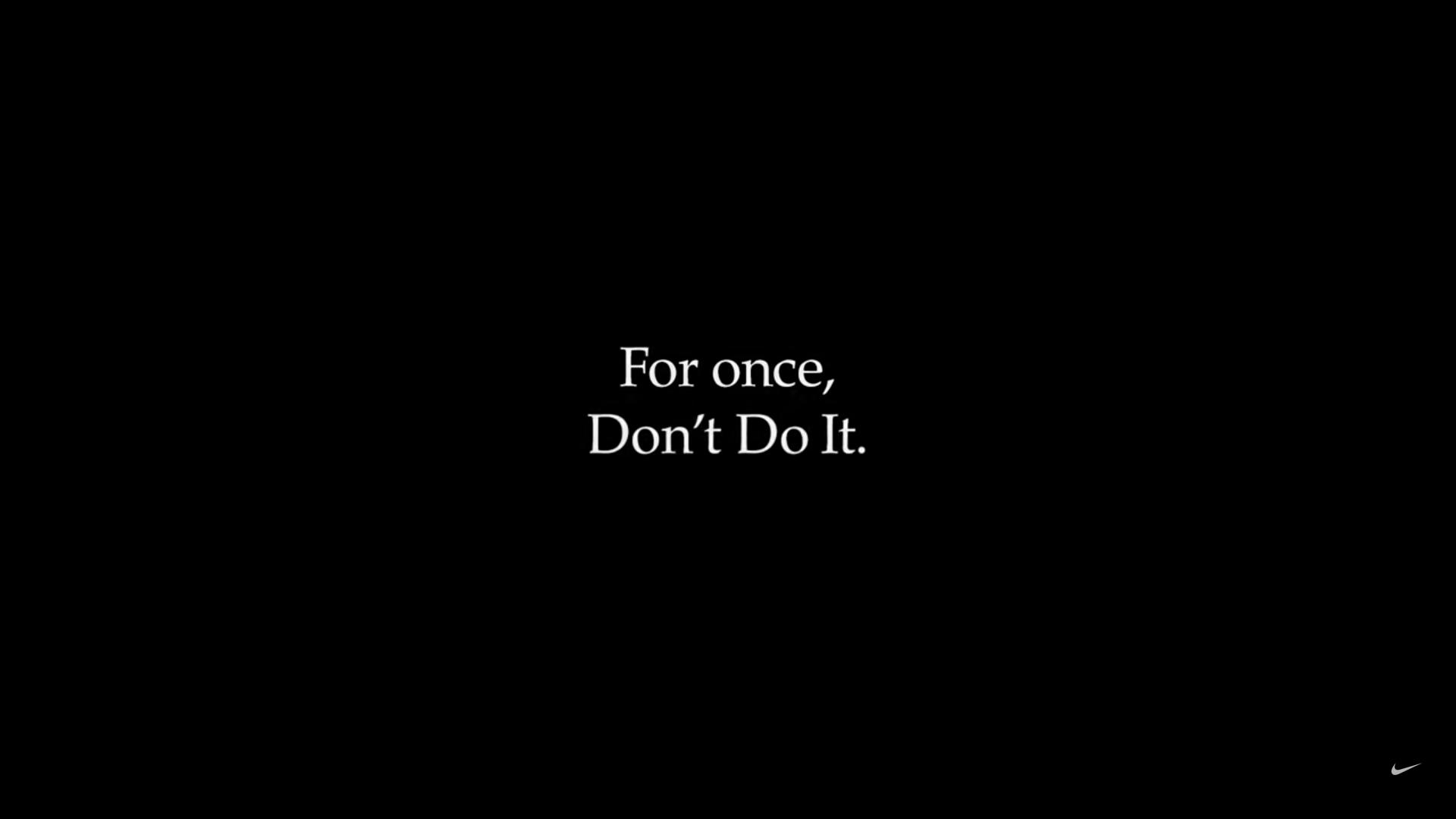 VIDEO: reclamă virală Nike împotriva rasismului: For once, Don't Do It