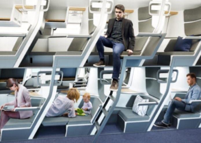 Călătorii cu avionul postpandemie: Clasa Economy, confort de Business