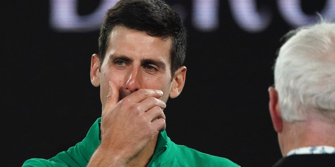 Novak Djokovic testat pozitiv pentru Covid-19