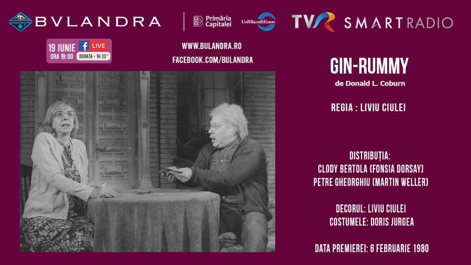 Teatru online: Gin-Rummy, în regia lui Liviu Ciulei. Ora 19:00, gratuit pe Smart Live Fever