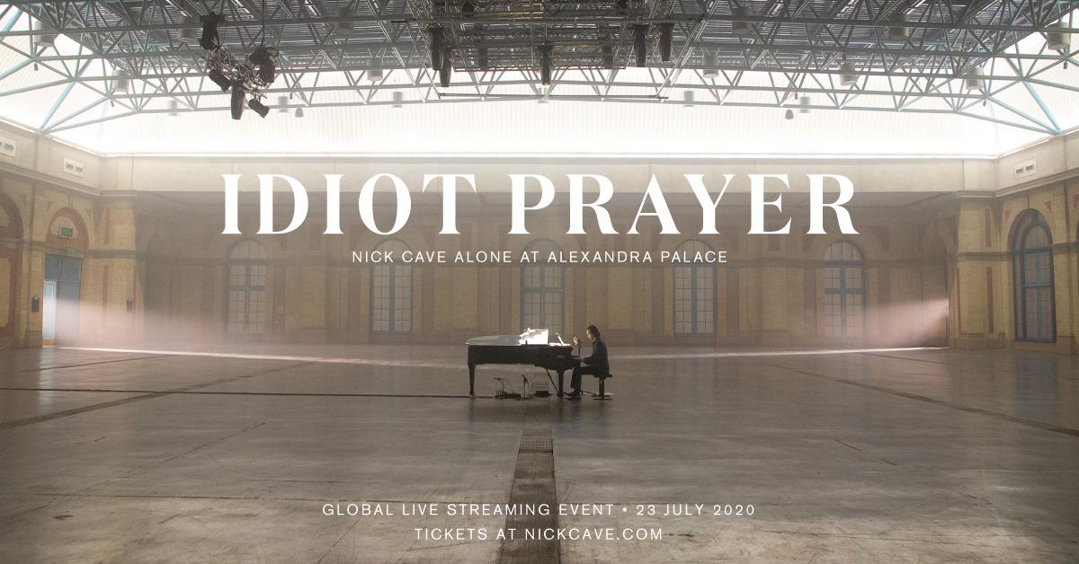 Concert emoționant: Nick Cave cântă pentru lumea întreagă în seara asta, dintr-o uriașă sală de teatru goală