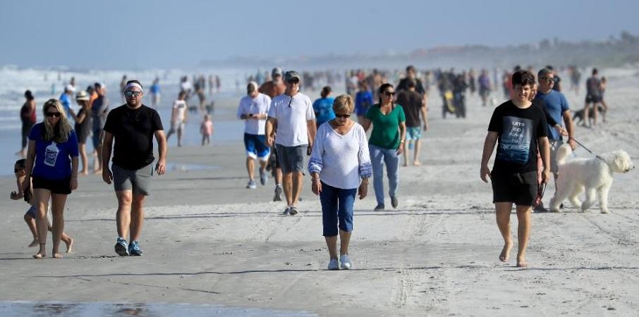 Lipsa măsurilor de prevenție: un al doilea val se extinde în sudul Statelor Unite