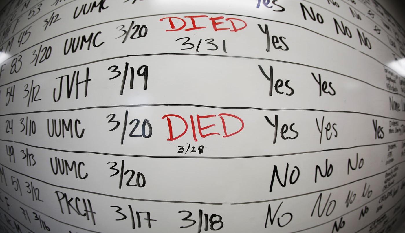SUA: Rata mortalității, de 10 ori mai mică decât la apogeul epidemiei