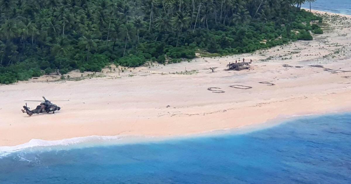 Salvați de… un mesaj SOS scris în nisip. De 3 ori Robinson Crusoe