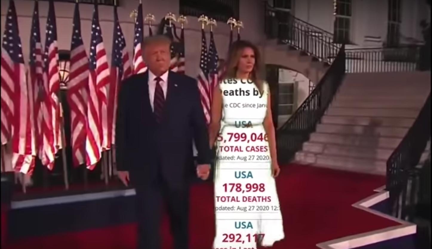 Rochia și privirea Melaniei Trump, subiecte de glume pe internet