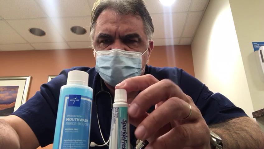 """Alexie: """"O bună igienă orală le poate salva viața celor bolnavi de Covid-19"""""""
