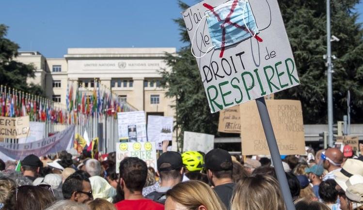 """Protestele anti-Corona continuă în Europa. """"Încetați cu pandemia. Încetați cu minciunile"""""""