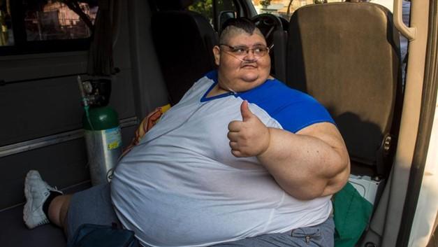 """În 2017 era desemnat """"cel mai gras om din lume"""". Acum a învins Covid-19, după o lună de la infectare"""