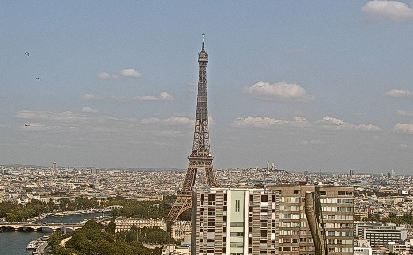 Fumul incendiilor din California a ajuns până la Paris, la 10.000 de km distanță