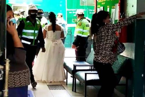 Peru  Nuntă întreruptă și nuntași arestați pentru că au încălcat izolarea