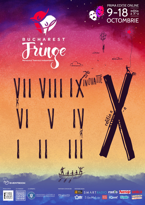 Bucharest Fringe – Maratonul Teatrului Independent la cea de a 10-a ediție