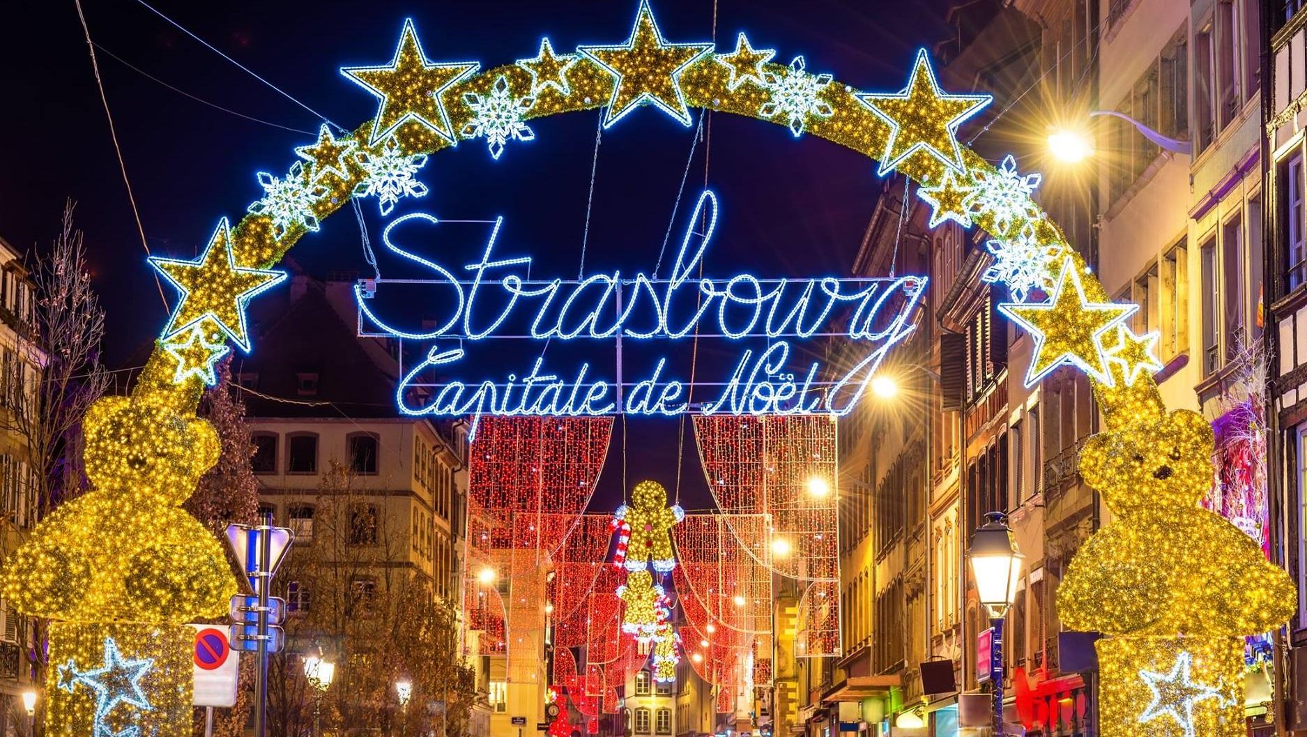 Târgul de Crăciun de la Strasbourg a fost anulat din cauza situației epidemice