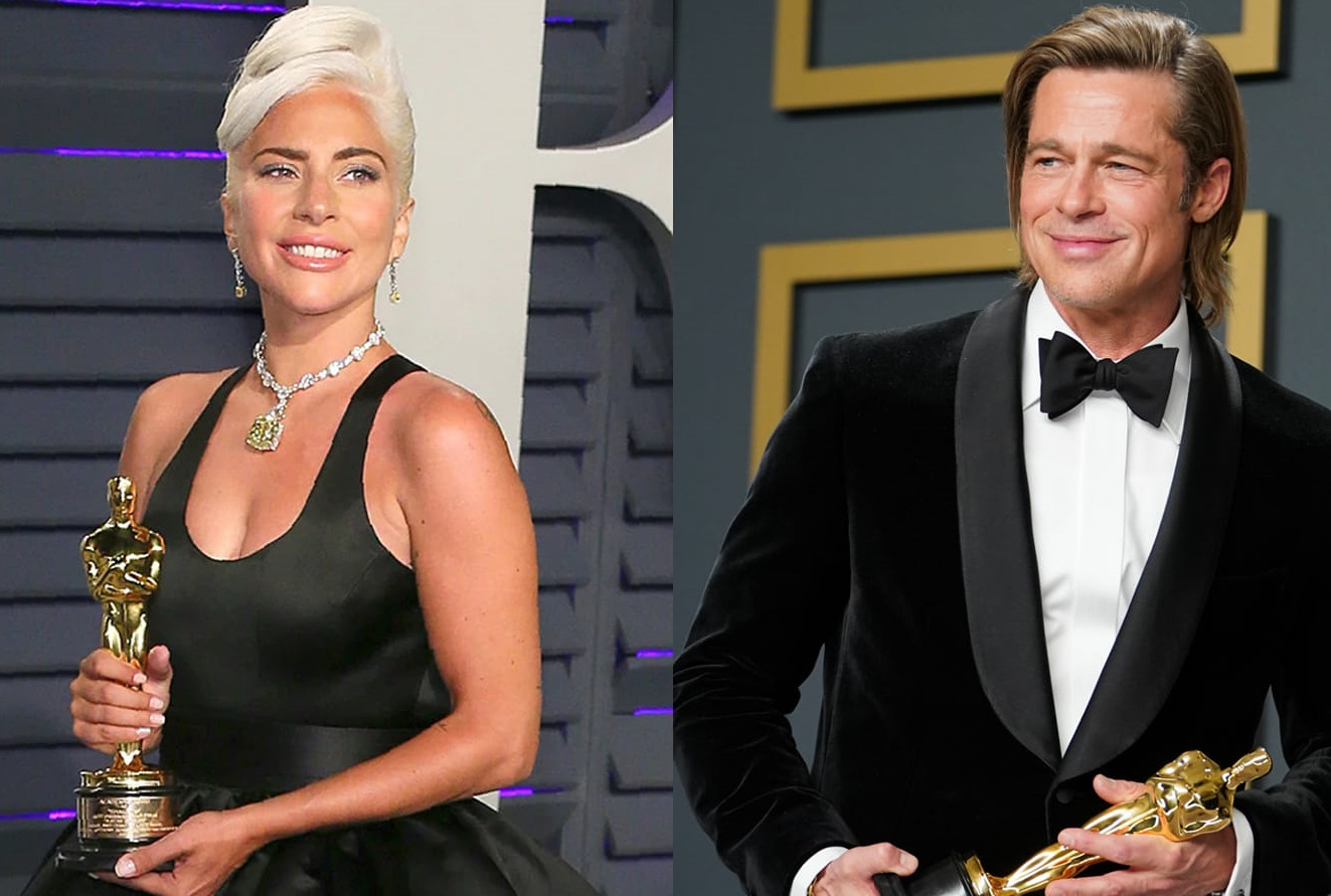 Lady Gaga trece de la Bradley Cooper la Brad Pitt. Un nou proiect cinematografic pentru artista americană