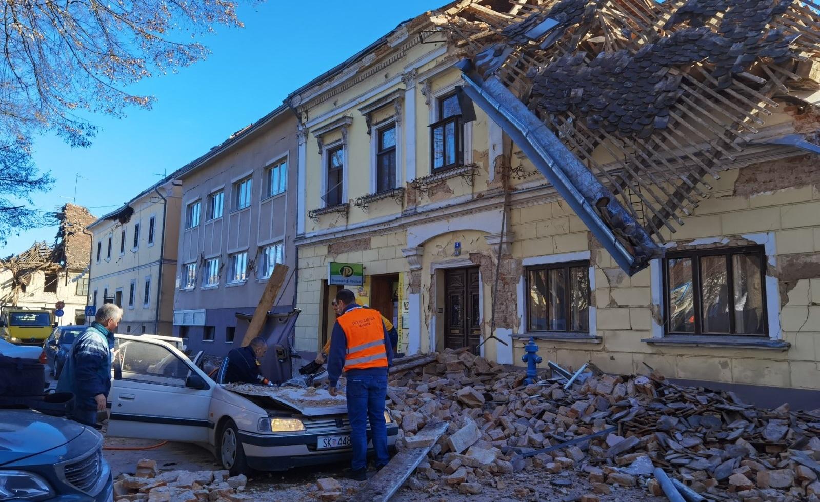 Croația| Cutremur puternic în apropiere de Zagreb. 6,3 grade pe scara Richter