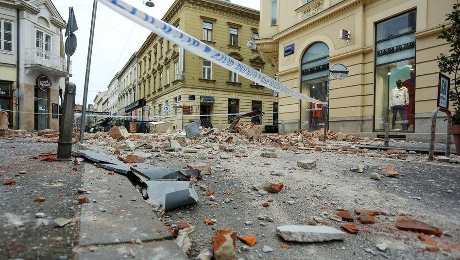 Croația  Încă un cutremur cu magnitudinea de 4,5 grade pe scara Richter. Al 15-lea din ultimele 32 de ore