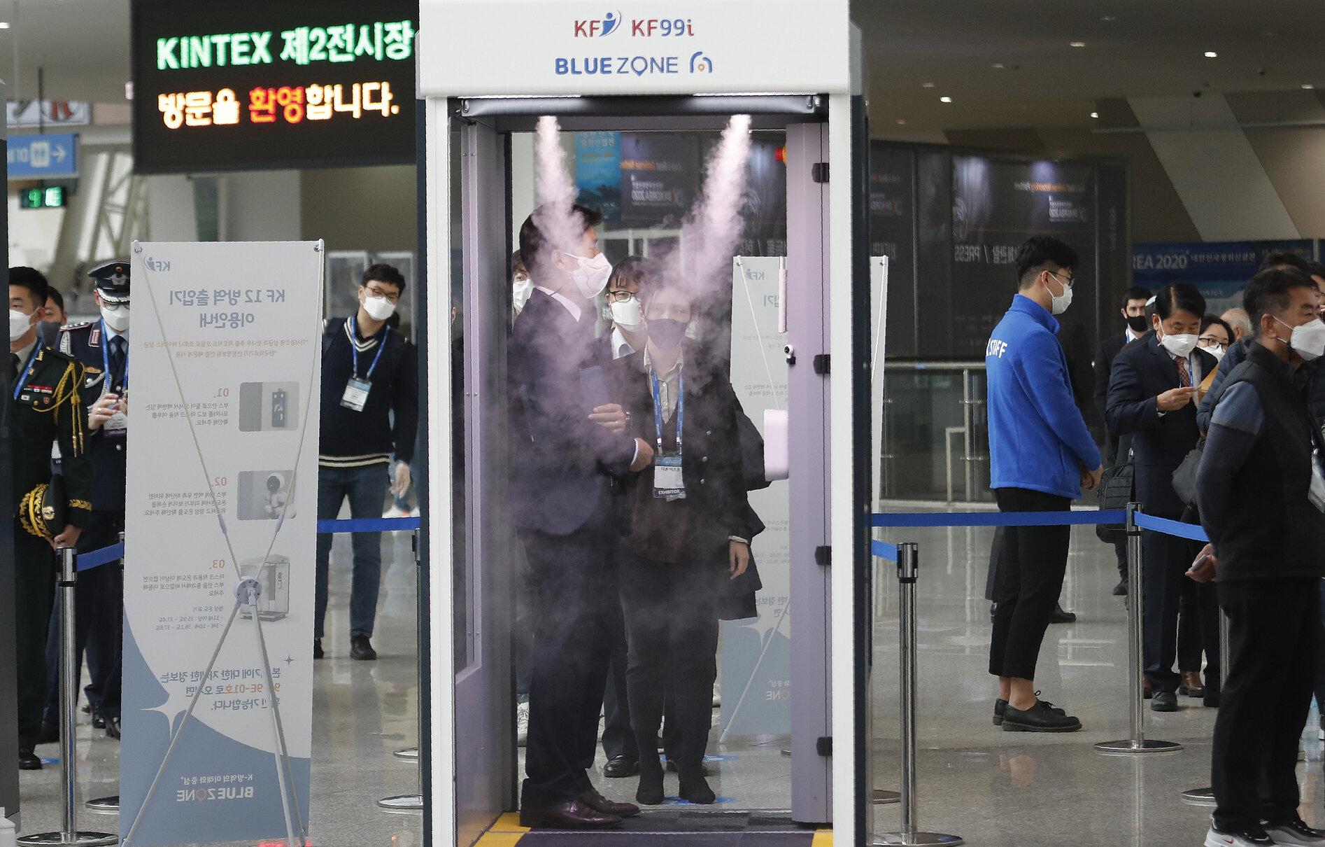 Coreea de Sud se luptă deja cu al treilea val al epidemiei Covid-19