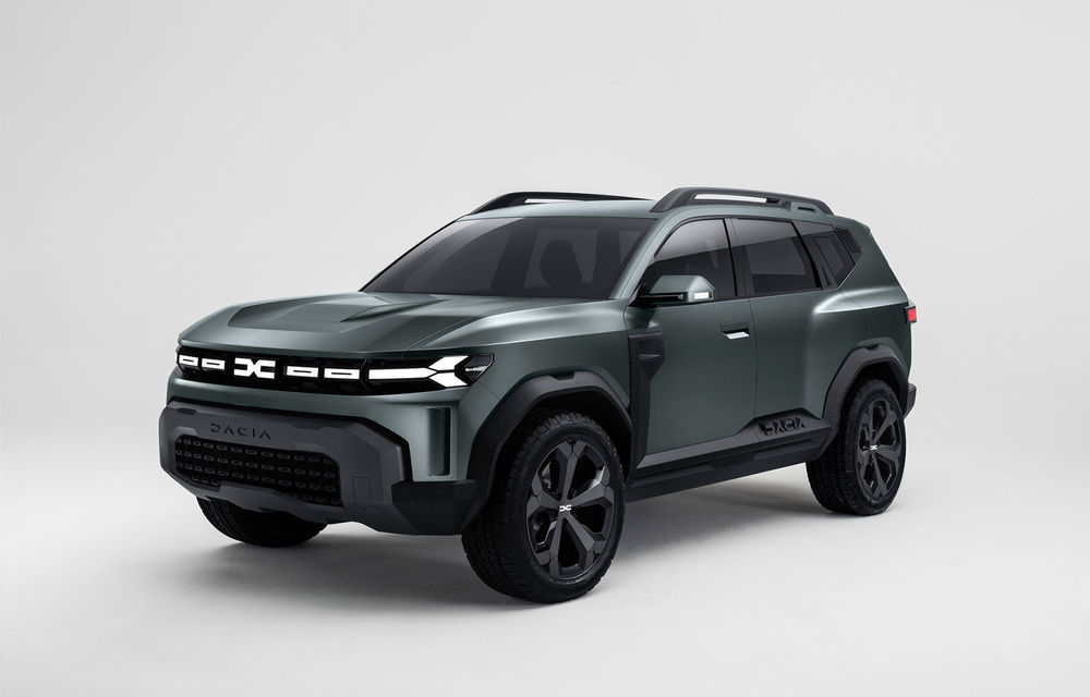 Fugi Dacia! Dacia lansează Bigster, un nou model SUV hibrid și își schimbă sigla