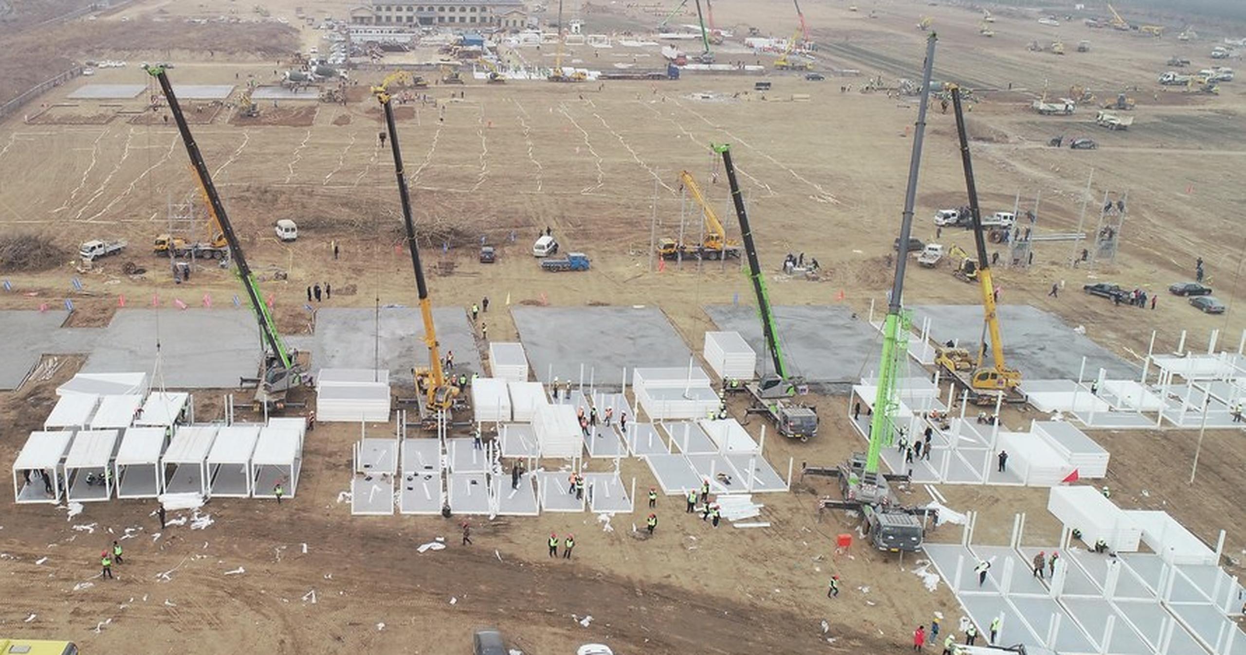 Repetă scenariul din 2020| China construiește un centru de carantină gigant