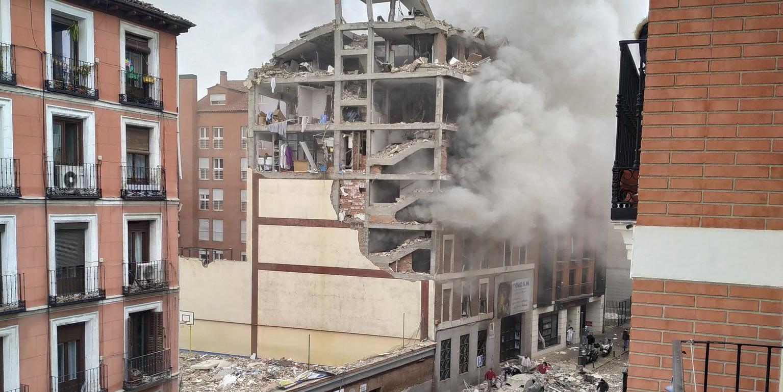 Explozie puternică la Madrid. Cetățenii sunt îndrumați să evite zona