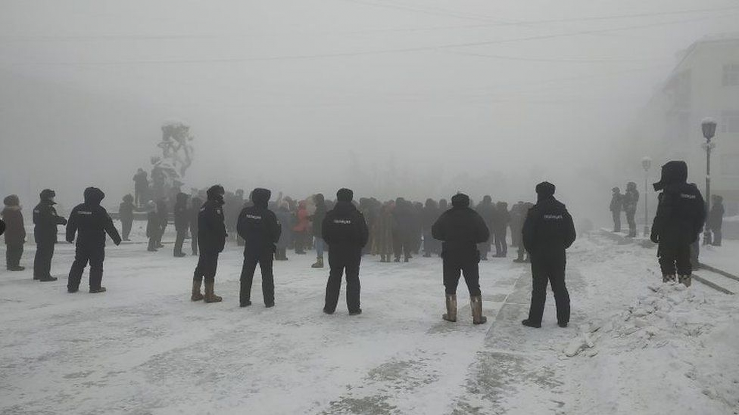 Proteste pro-Navalnîi în mai multe orașe din Rusia. Susținătorii au ieșit în stradă la -50 de grade Celsius