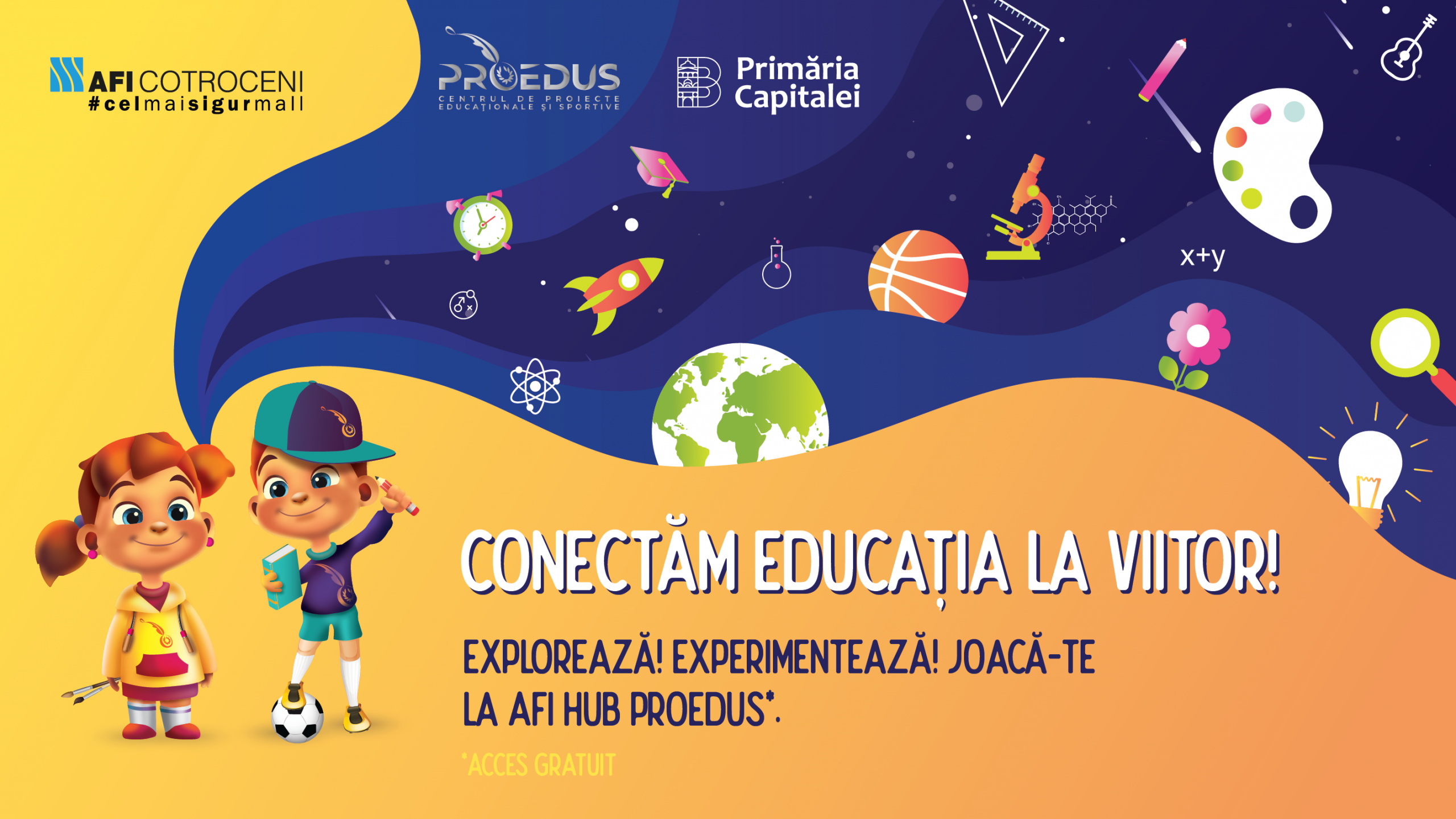 AFI HUB PROEDUS, proiectul pilot de educație pentru copii găzduit de AFI Cotroceni