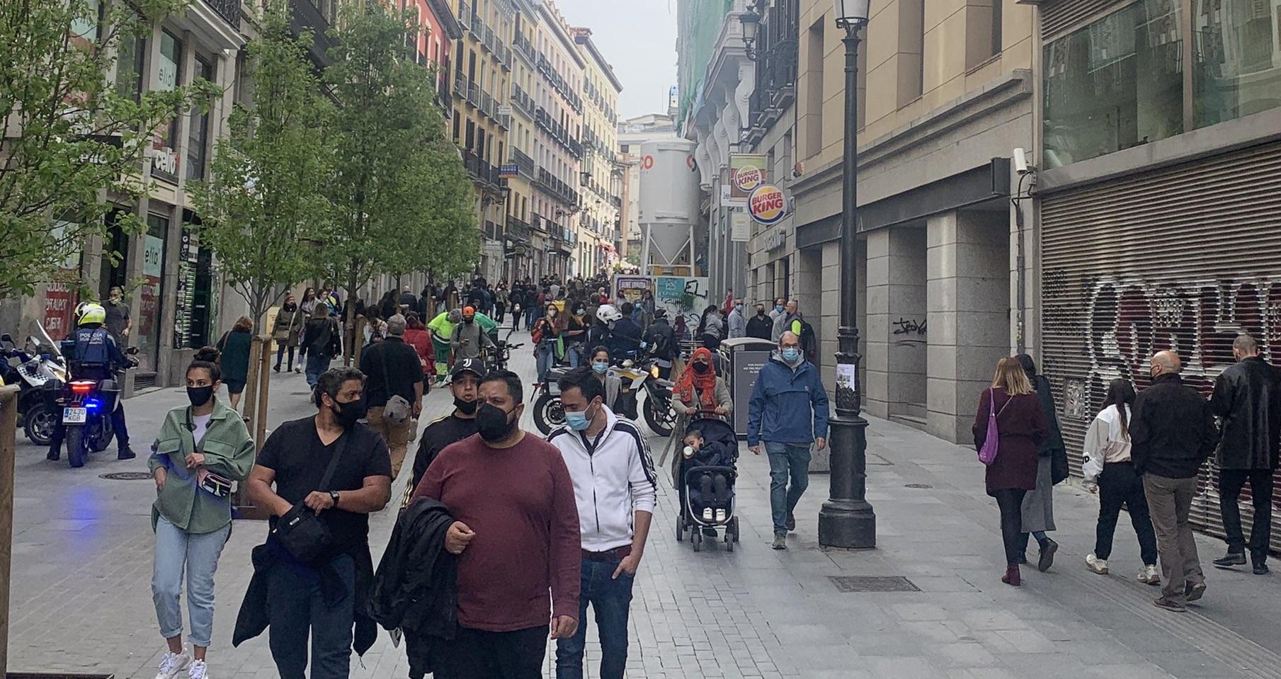 Madridul trăiește cu virusul. Restaurantele și spațiile culturale sunt deschise, toate regulile sunt respectate
