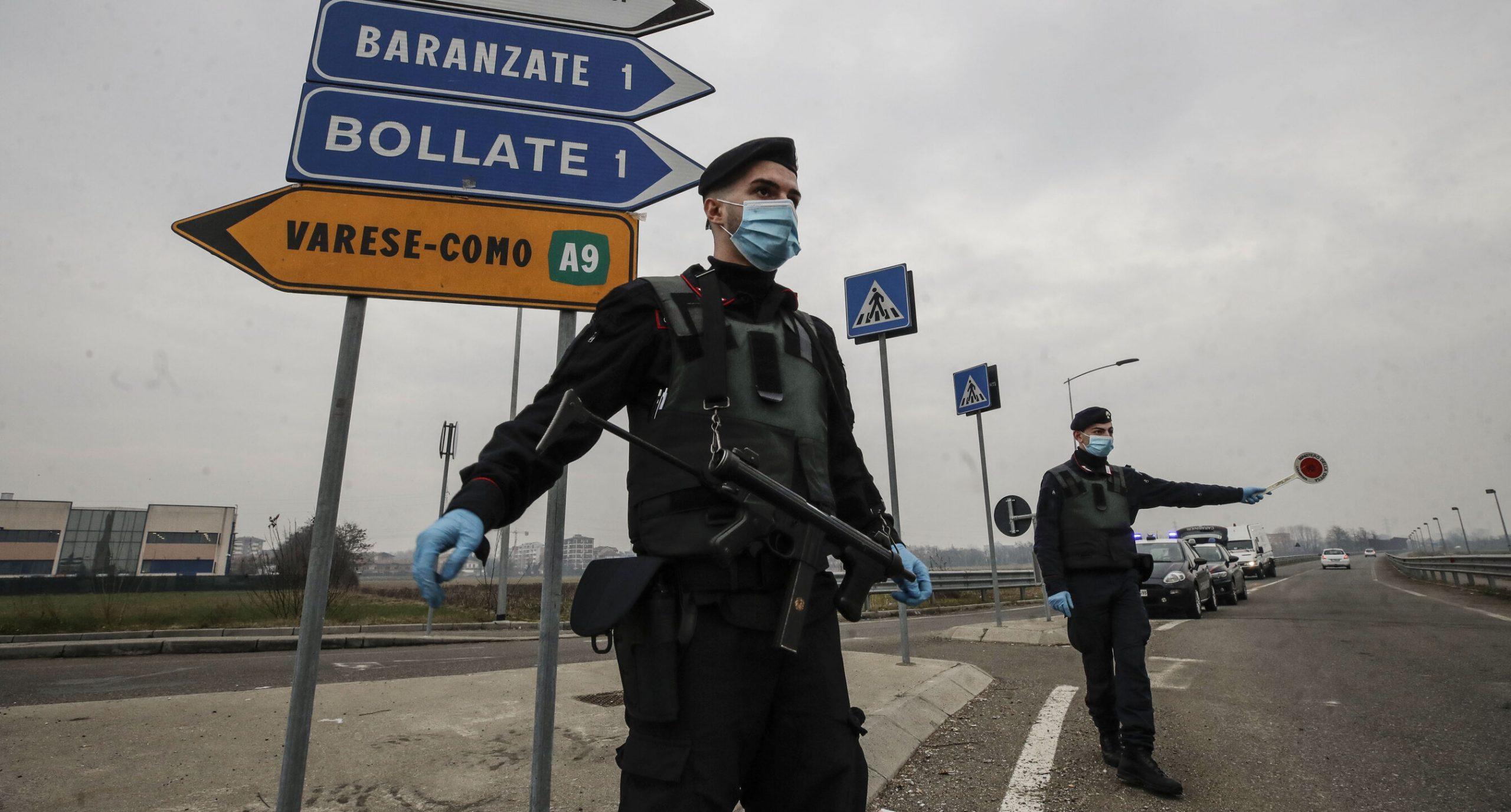 Italia se confruntă deja cu valul trei. 44% dintre cetățeni sunt în favoarea unor măsuri mai dure