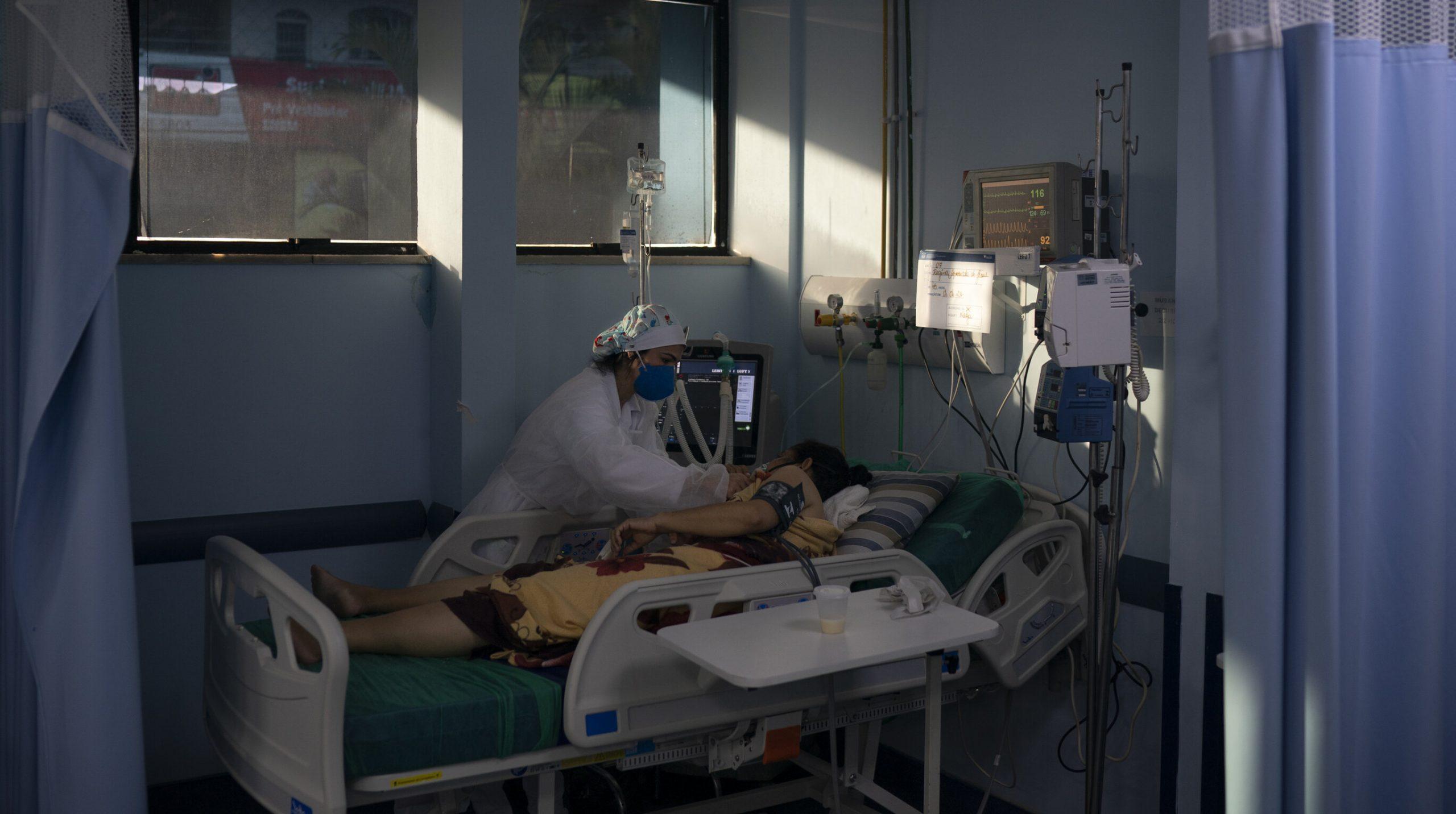 Brazilia| Majoritatea pacienților Covid aflați la terapie intensivă au sub 40 de ani
