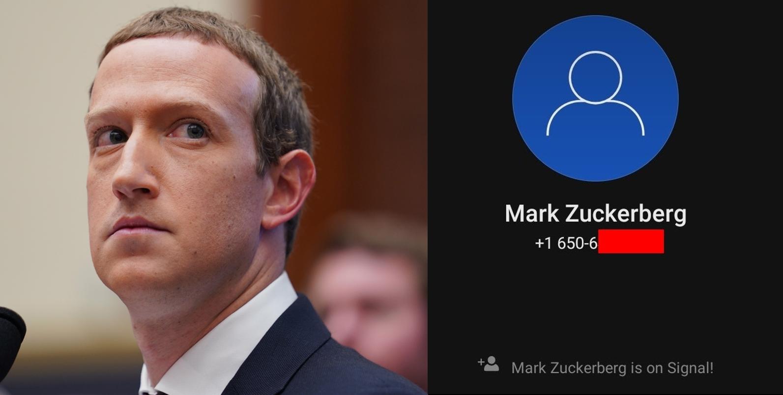 Nici Zuckerberg nu are încredere în aplicația WhatsApp, pe care o deține. S-a înregistrat pe o platformă rivală