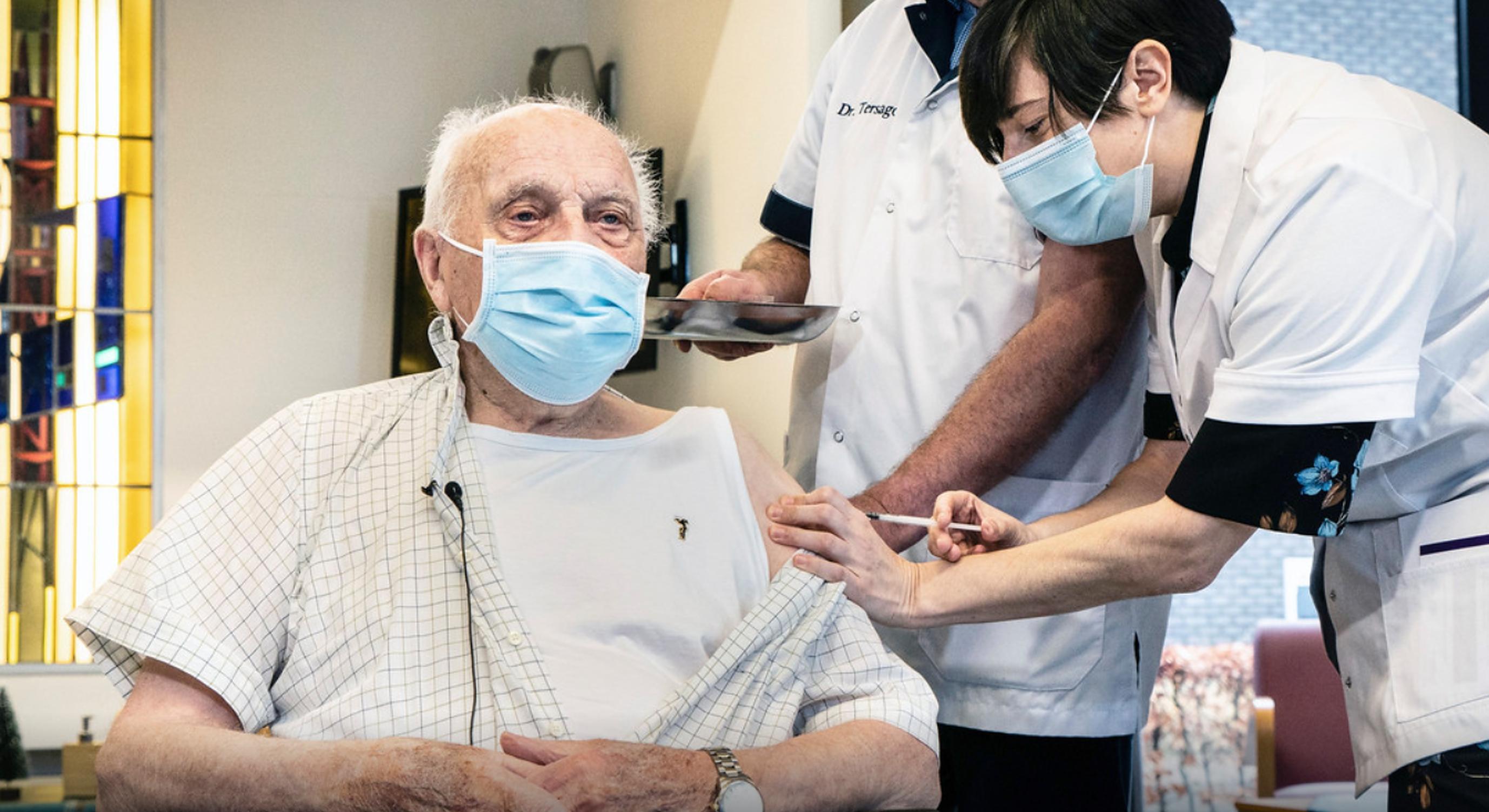 A decedat primul belgian vaccinat anti-Covid. Avea 96 de ani