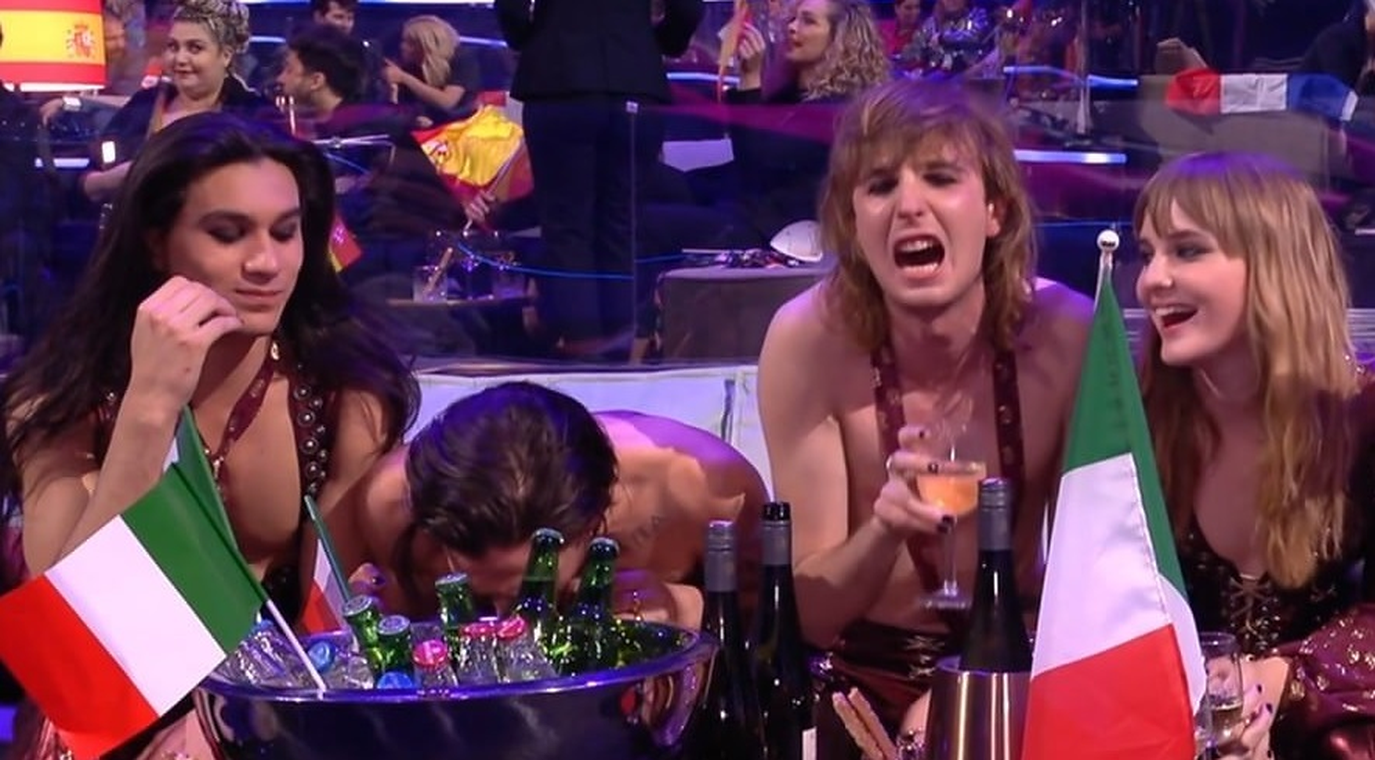 Câștigătorul Eurovision neagă faptul că a prizat cocaină în timpul concursului. Imaginile au fost transmise în direct