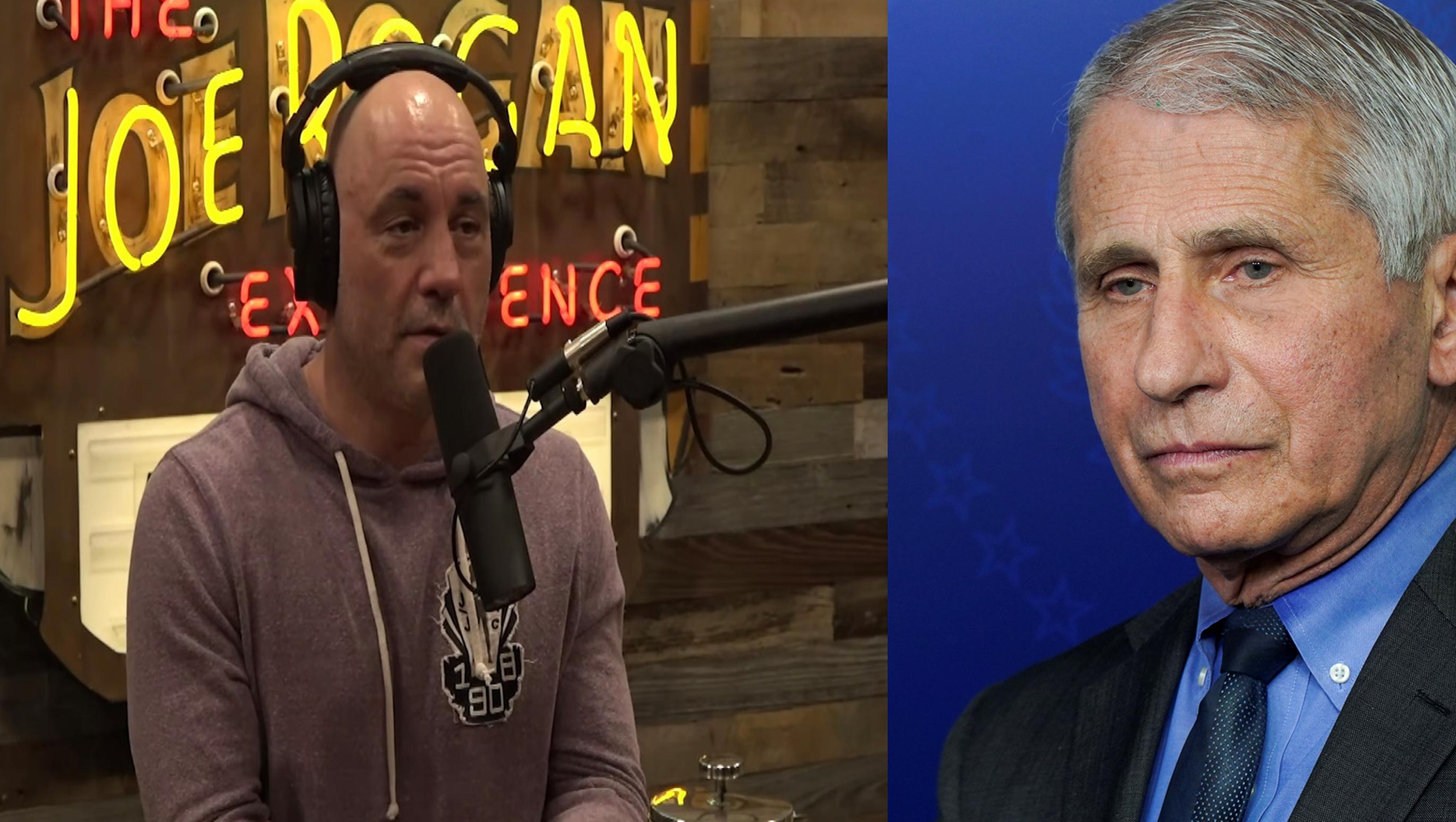 Anthony Fauci este revoltat de atitudinea comediantului Joe Rogan, care a recomandat tinerilor să nu se vaccineze