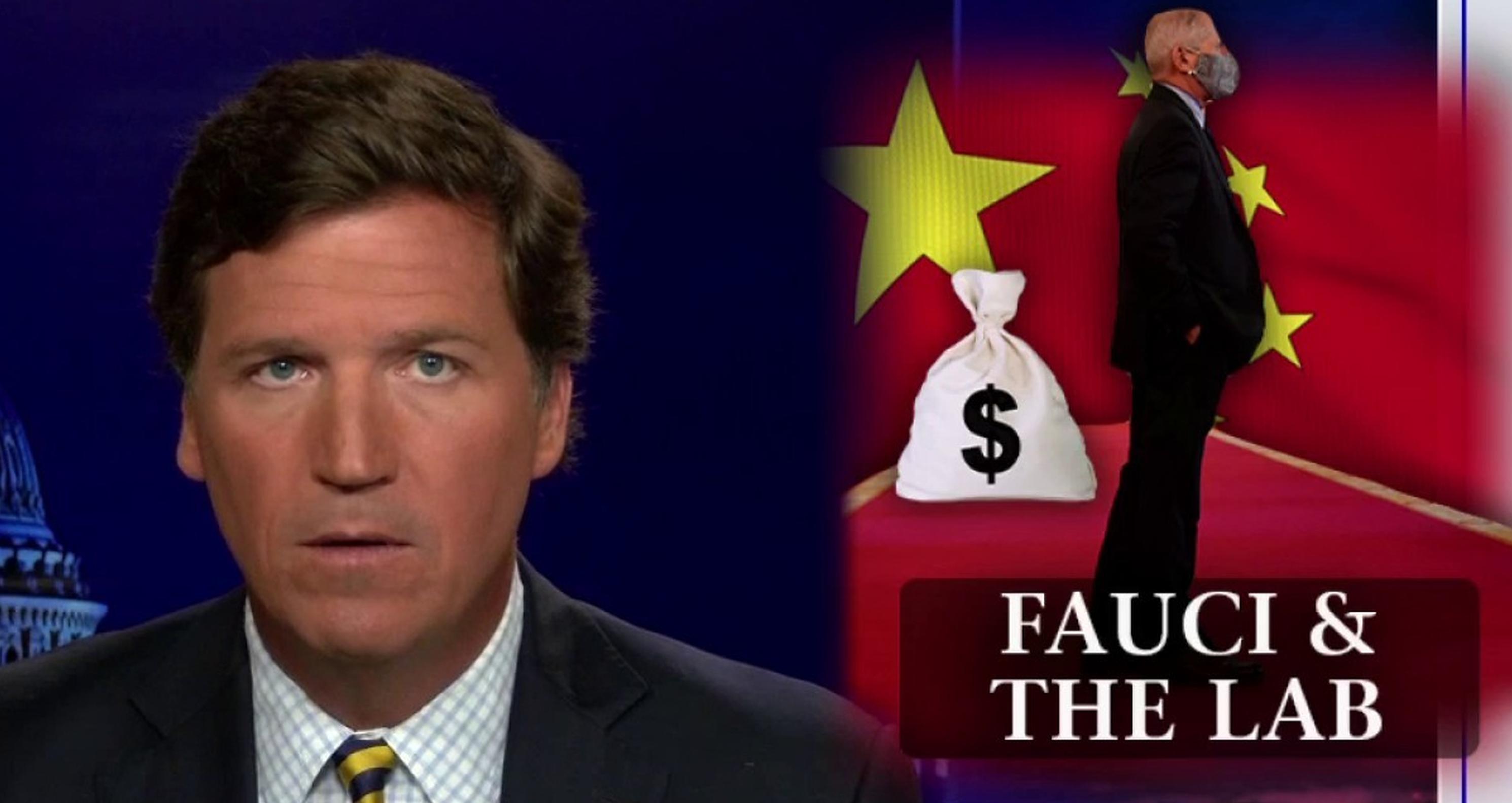 """Anthony Fauci a autorizat finanțarea laboratorului din Wuhan. """"Este responsabil pentru epidemia Covid"""", afirmă realizatorul TV Tucker Carlson"""