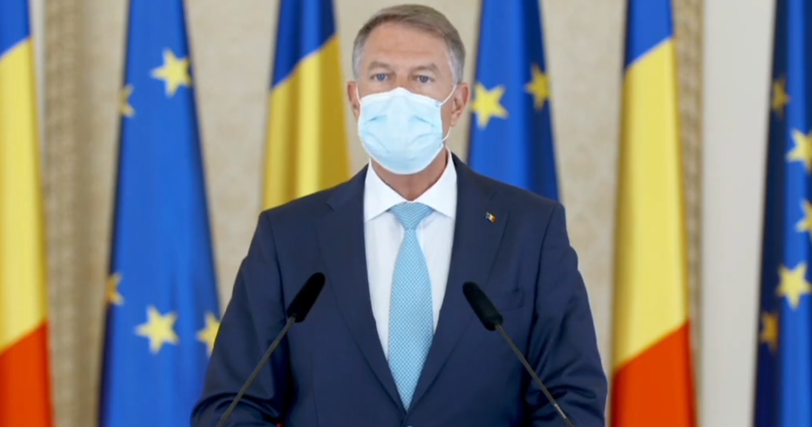 Klaus Iohannis: Din 15 mai nu mai porți masca în aer liber, restricțiile de noapte sunt eliminate