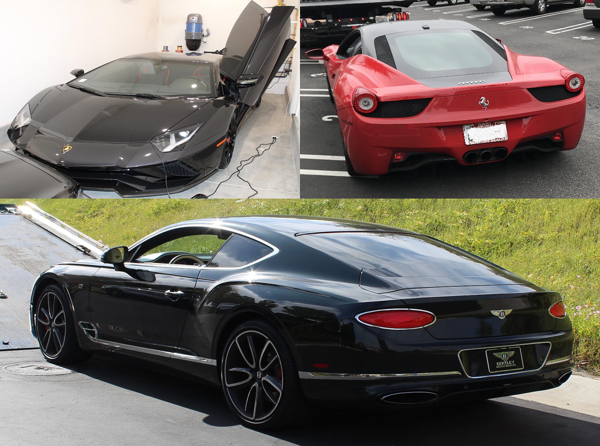 Ferrari, Lamborghini și Bentley achiziționate din banii de la fondul de ajutor Covid. Un afacerist american s-a săturat să-și conducă doar companiile