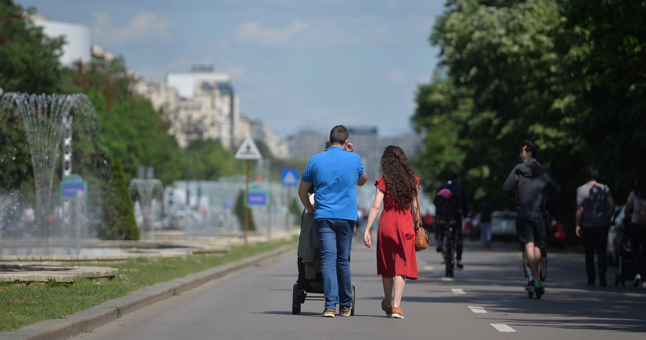 Centrul Capitalei va fi închis circulației rutiere în weekend-uri, începând cu 29 mai. Harta zonelor pietonale din București
