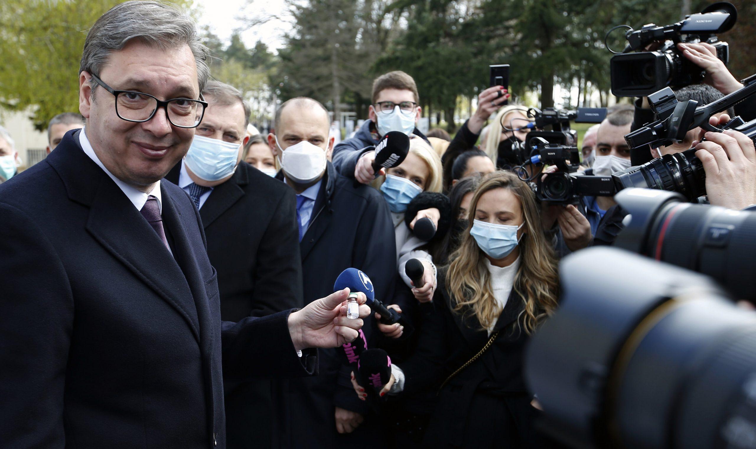 Serbia oferă 25 de euro cetățenilor care aleg să se vaccineze împotriva Covid