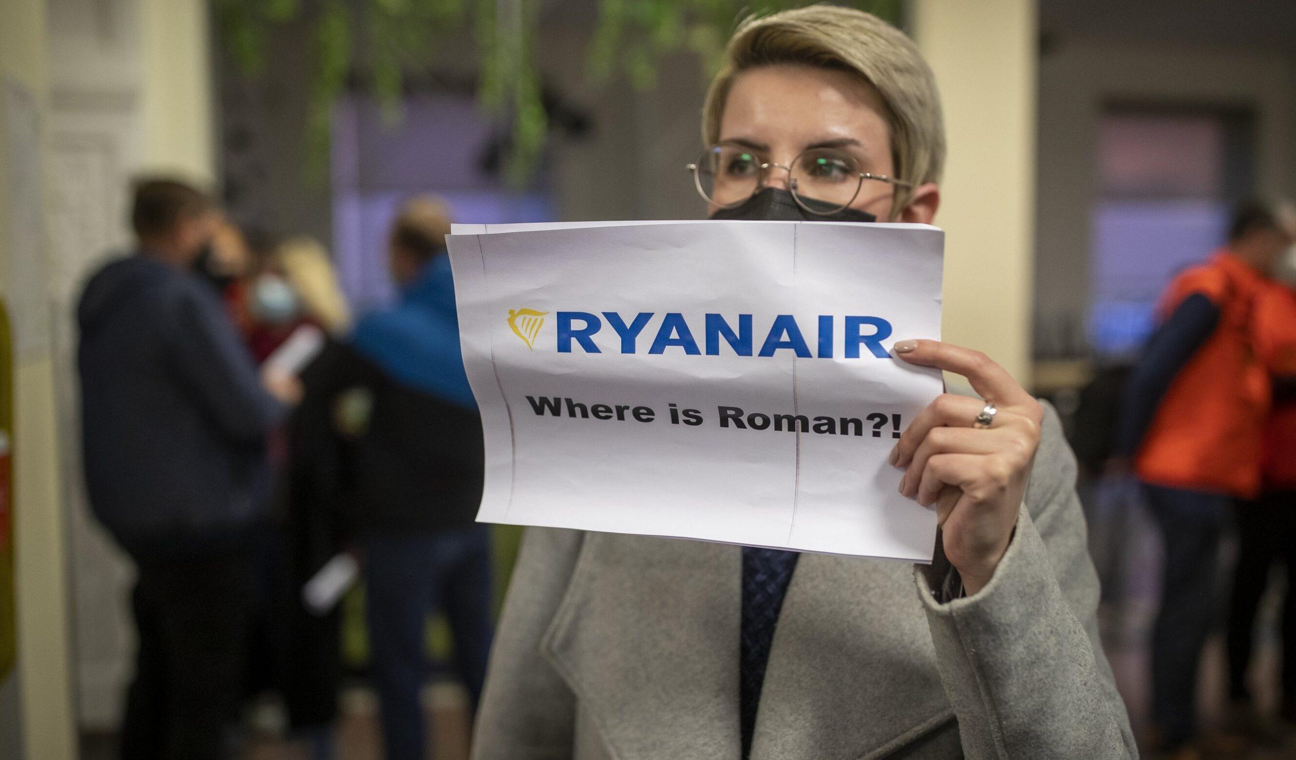 SUA solicită eliberarea imediată a jurnalistului Roman Protasevich, arestat după ce avionul în care se afla a fost deturnat