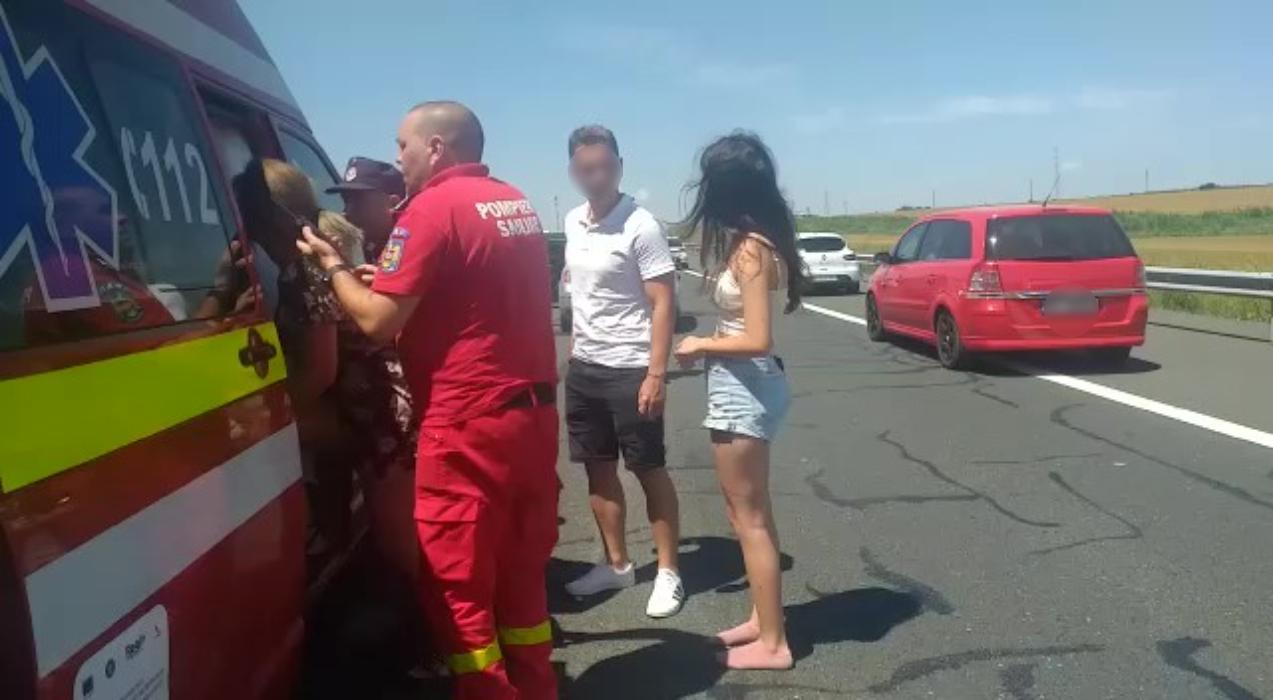 Încă un accident pe Autostrada Soarelui: 10 persoane implicate