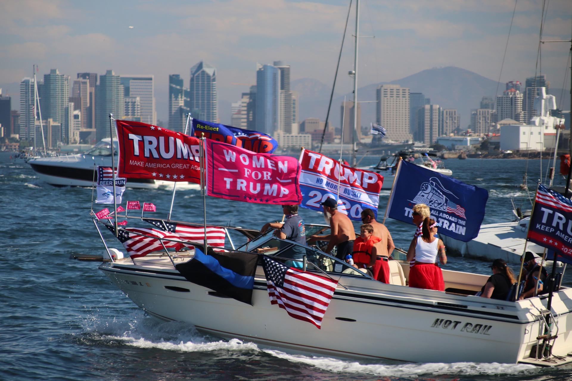 Varianta Delta face ravagii printre fanii lui Donald Trump