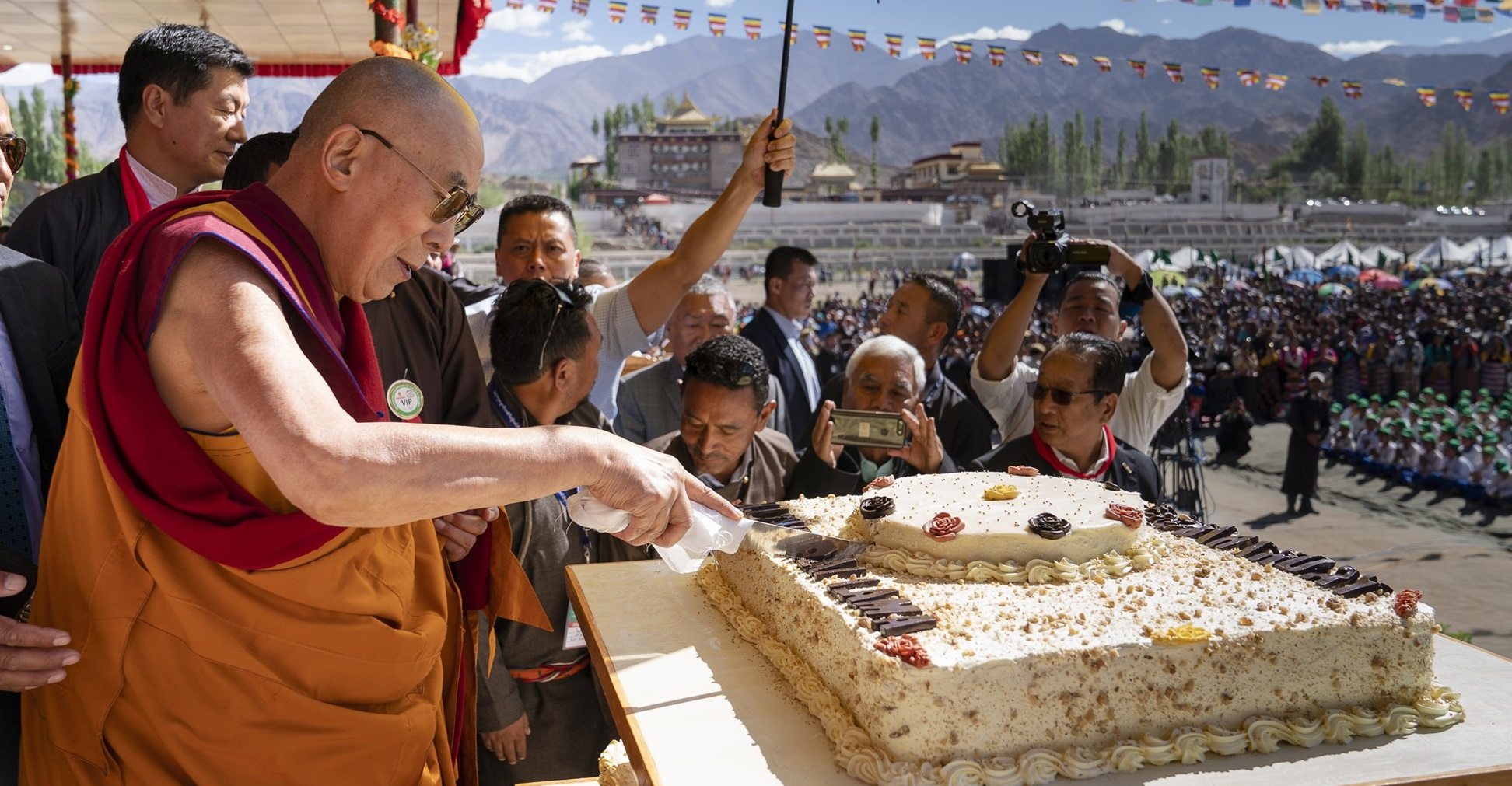 Dalai Lama împlinește astăzi 86 de ani. Unul dintre cele mai importante evenimente ale comunității tibetane