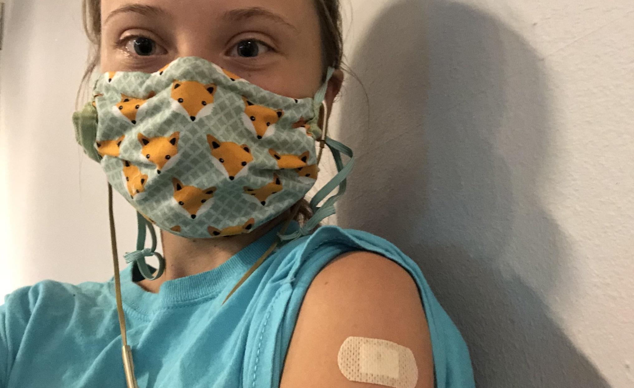 """Greta Thunberg se simte """"recunoscătoare și privilegiată"""" pentru că s-a putut vaccina anti-Covid"""